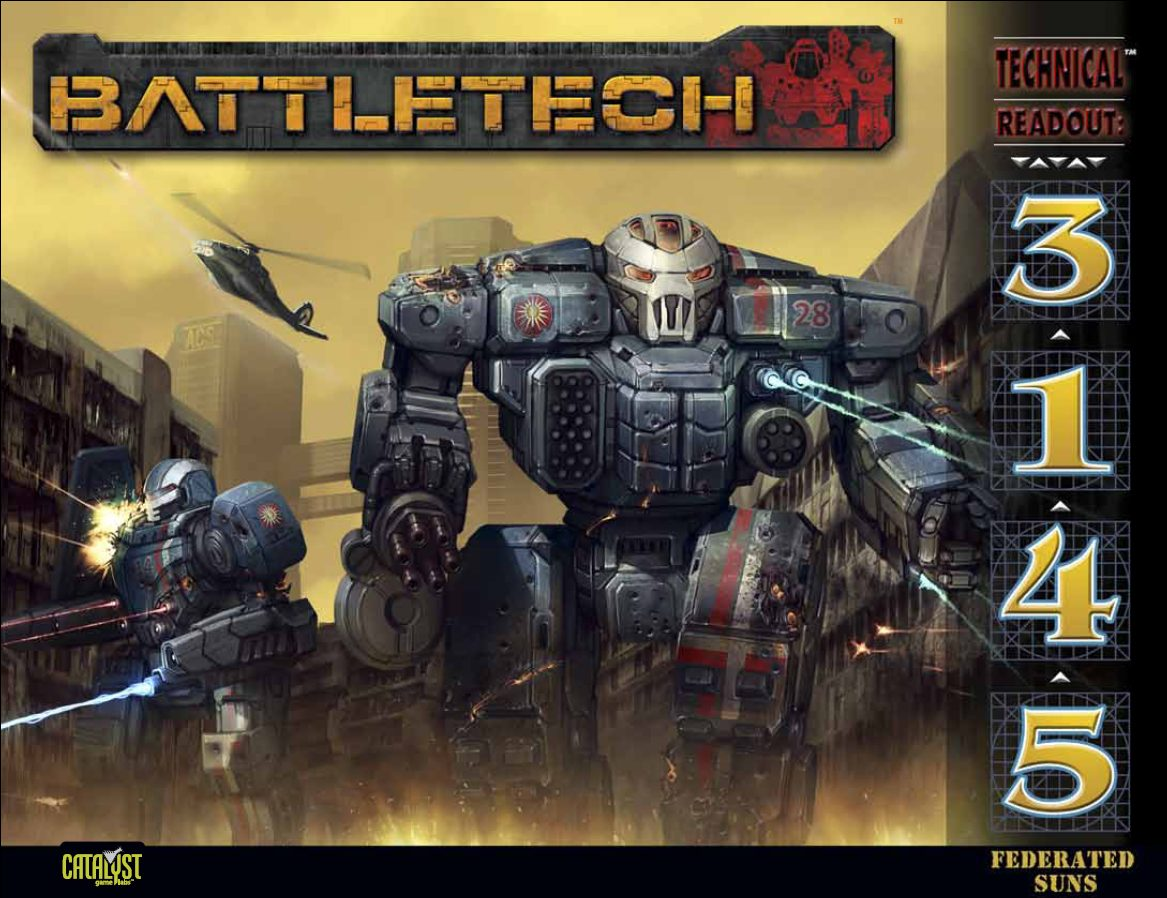 BattleTech: Technical Readout: 3145 Federated Suns