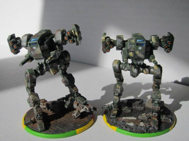NorAM Raptor from Mecha Front: In all its Scroggliness.