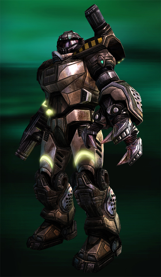I think I'd prefer SRMs, but at least you're better armed than in the HALO games.
