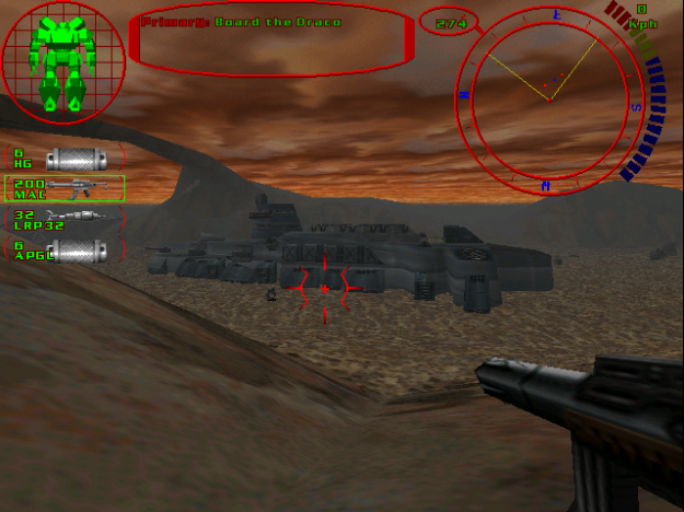 Reactor, Online, Sensors, Online, Weapons... Oh wait a minute.