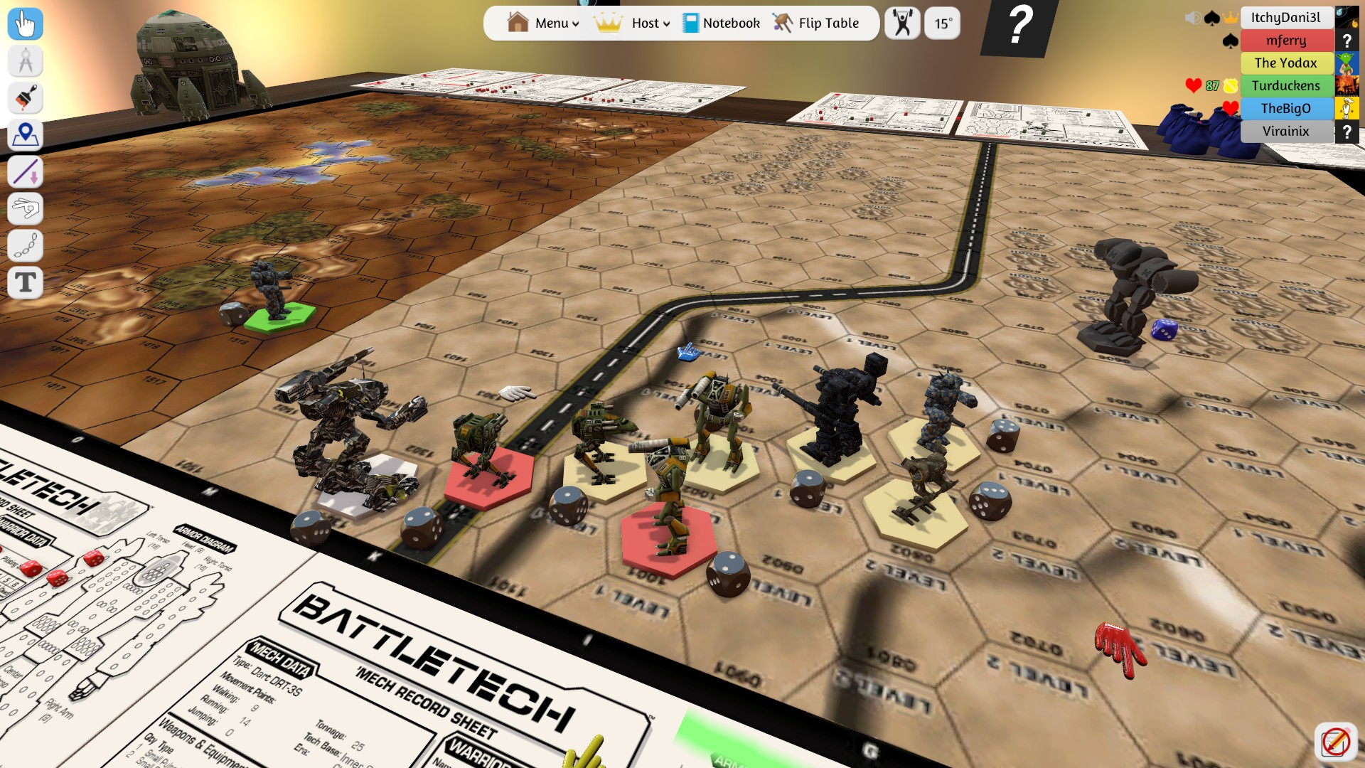 did you know? tabletop simulator has battletech in vr | sarna
