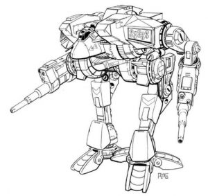 Sarna.net News: The Art of War – An Interview with Matthew Plog, BattleTech Artist