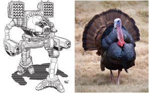 Sarna.net News: The 'Mech That Looks Most Like A Turkey
