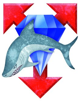 Clan Diamond Shark Logo