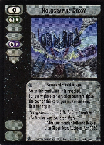 Holographic Decoy CCG CommandersEdition.jpg