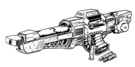 Heavy Machine Gun as used on Battle Armor
