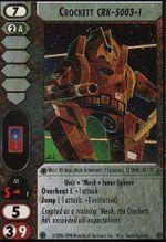 Crockett (CRK-5003-1) CCG CommandersEdition.jpg