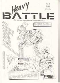 Heavy Battle, Issue 3
