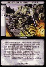 Severed Supply Lines CCG MechWarrior.jpg