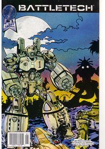 Blackthorne BattleTech comic #3