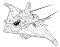 Phoenix Hawk LAM MK I Fighter TRO3085.png