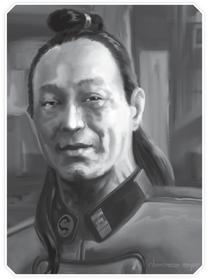 Matsuhari Toranaga at the age of 56