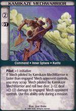 Kamikaze MechWarrior CCG Unlimited.jpg