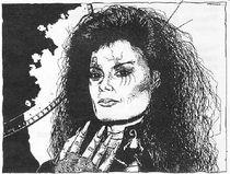 """""""Lady Death"""" Paula Trevaline at age 34"""