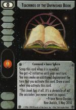 Teachings of the Unfinished Book CCG CommandersEdition.jpg