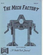 The Tech Factory Issue 1 Cover