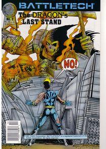Blackthorne BattleTech comic #1