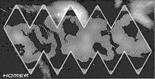 World Map of Homer