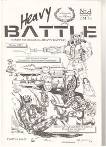 Heavy Battle, Issue 4
