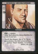 Veteran MechWarrior CCG Limited.jpg