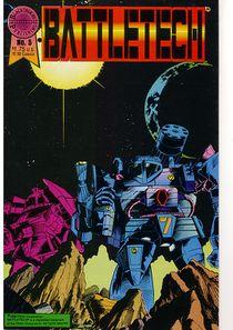 Blackthorne BattleTech comic #5
