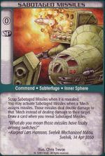 Sabotaged Missiles CCG Unlimited.jpg