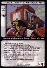 Kai, Champion of Solaris CCG MechWarrior.jpg