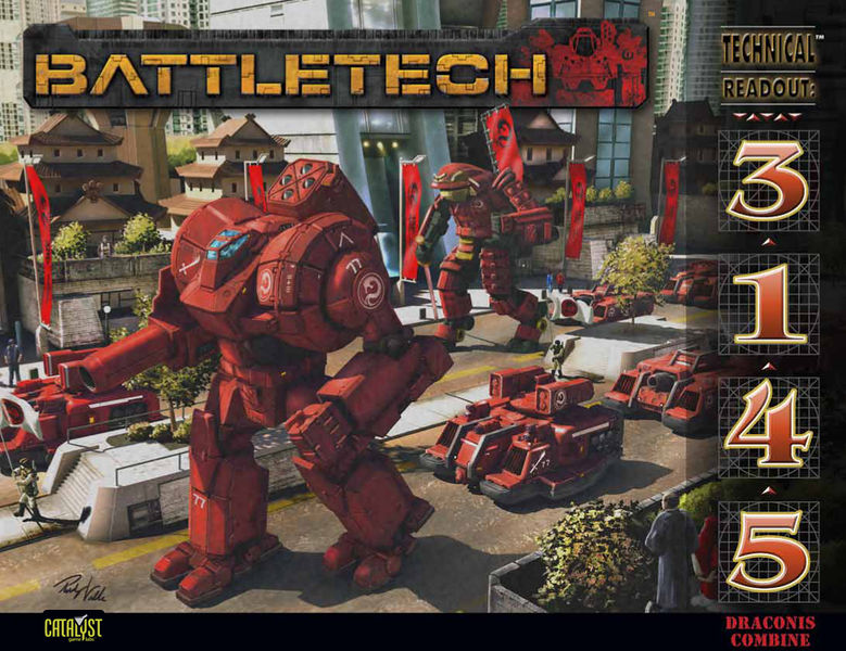 BattleTech: Technical Readout: 3145 Draconis Combine