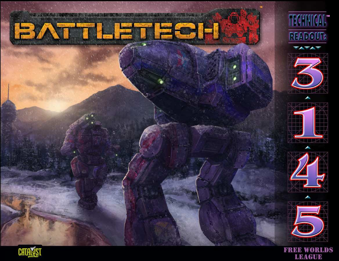 BattleTech: Technical Readout: 3145 Free Worlds League