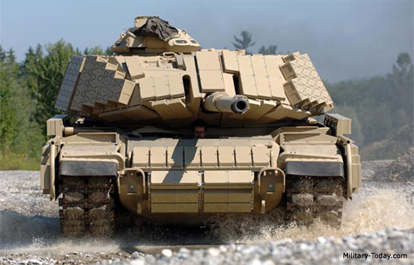 M60 Phoenix MBT with Reactive Armor Panels