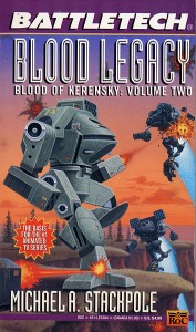 Cover of 1995 reprint of Blood Legacy