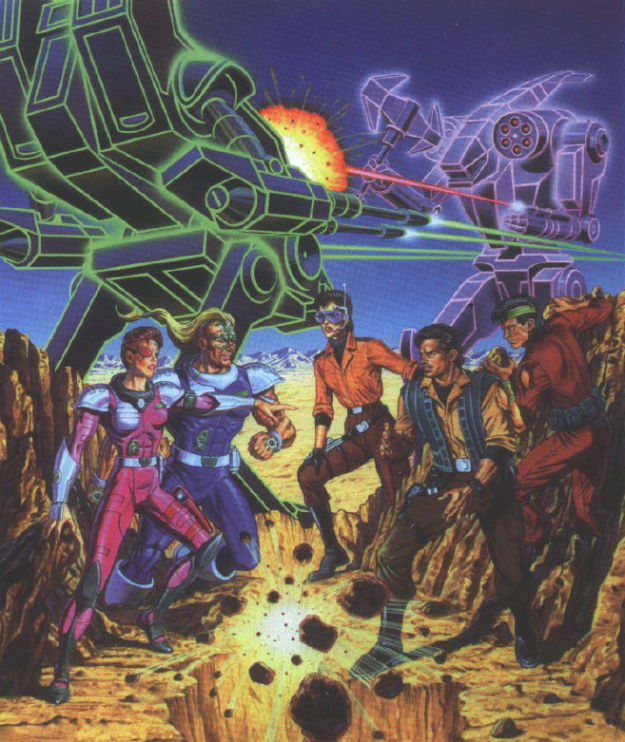 promotional artwork for the animated series