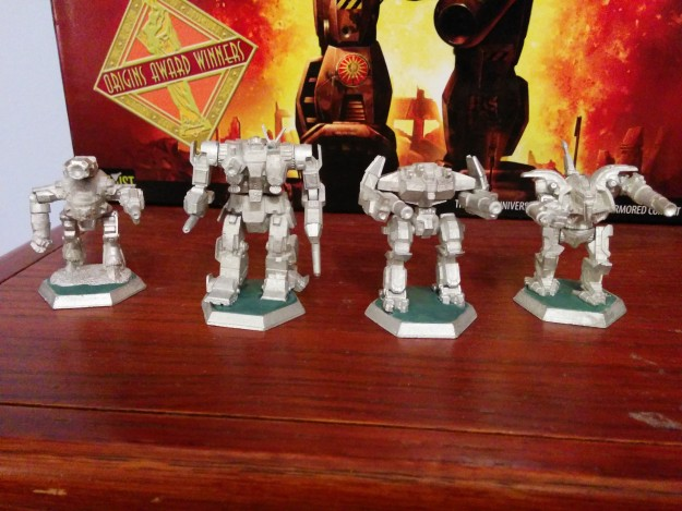 XII Hastati Sentinels Assembled