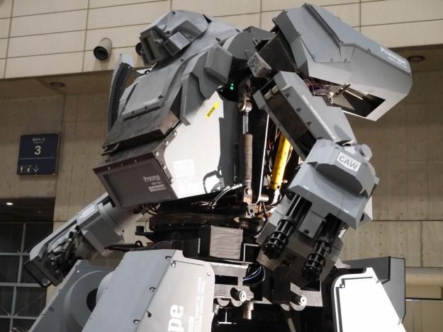 Suidobiashi Heavy Industries; Kuratas simulated combat robot.