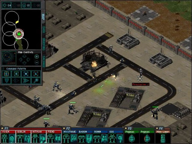 MechCommander Desperate Measures, the classic isometric RTS title.