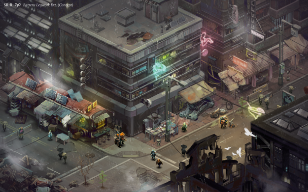 Shadowrun Returns: Wouldn't take much to add an Urbie to the environment.