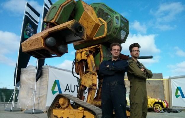 MegaBot MK2 dueling robot.