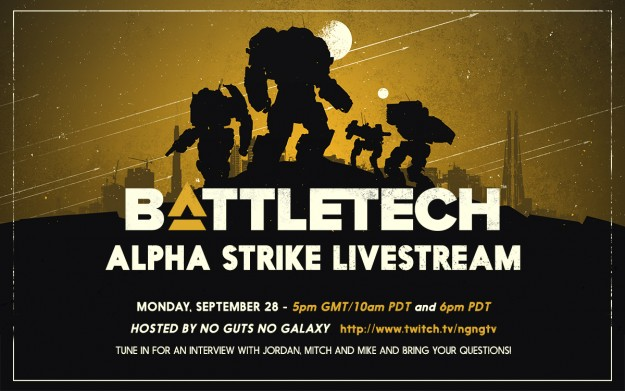 BattleTech Live Stream
