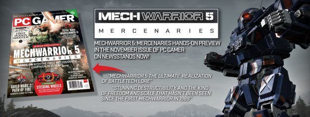 New Details Emerge For MechWarrior 5