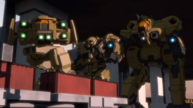 New Animated MechWarrior Series teased on YouTube