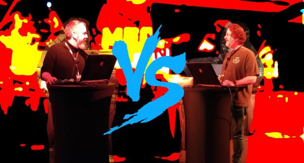 The BattleTech Match Of The Century: Mitch Gitelman vs. Jordan Weisman