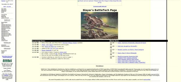 Slayer's Page