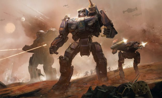 BattleTech, courtest of Harebrained Schemes