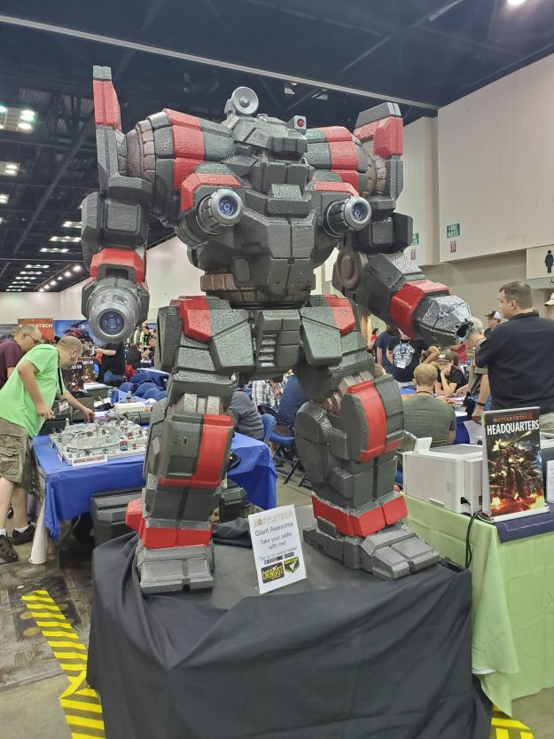 BattleTech at GenCon 2019