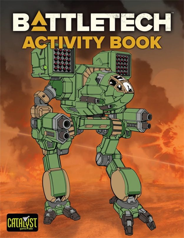 BattleTech Coloring Book