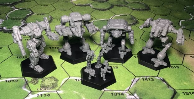 Clan Invasion Production Samples