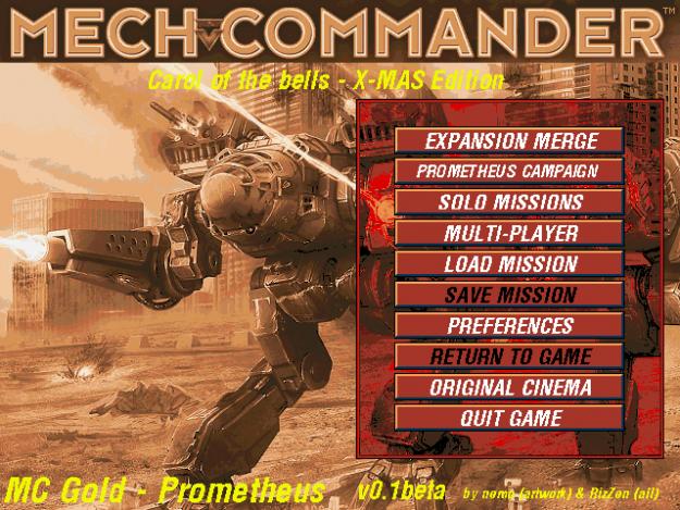 MechCommander Xmas Edition