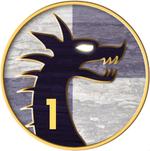 1st Drakøns crest