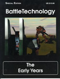 BattleTechnology, The Early Years (Front cover)