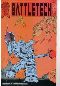 Blackthorne BattleTech comic #4